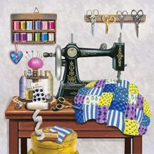 Antique Sewing Rooms