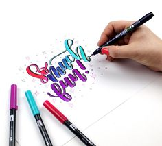 Peggy Dean shares her top 7 reasons why people learn modern calligraphy. Hand Lettering Fonts, Brush Lettering, Typography, Pinners Conference, Modern Calligraphy, Projects To Try, Letters, Writing, Learning