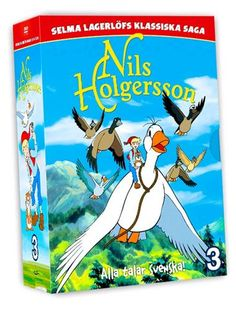 Nils Holgersson - Boxset 3 (4 disc) (DVD)