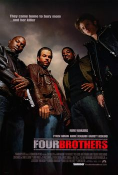 Four Brothers 27x40 Movie Poster (2005)