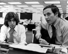 Woodward & Bernstein, Watergate journalists exposed Richard Nixon's corrupt practices while Nixon was president of the USA, causing him to resign as president and the vice president Gerald Ford was sworn in as the new president and then pardoned ex president Nixon.