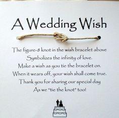 nice wedding thank you or a table favor