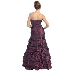 Designer NEW STRAPLESS PROM EVENING GOWN SWEET 16 SIXTEEN DRESSES FORMAL DANCE PARTY SPECIAL OCCASION ENGAGEMENT UNDER $100 AND PLUS SIZE 2