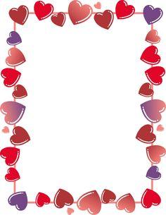 Clip Art Heart Border