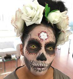 Catrina, halloween Makeup