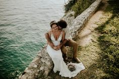 Elopement wedding day in Split with awesome couple from Australia. Captured by ________ Wedding planner: Video: Decorations: Makeup by: Hair by Dea . Elopement Wedding, Elope Wedding, Wedding Day, Wedding Dresses, Green Wedding Shoes, Messy Hairstyles, Caravan, Wedding Planner, Australia