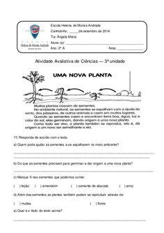 Escola Helena de Morais Andrade Canhotinho, _____de setembro de 2014 Tia: Ângela Maria Aluno (a): ________________________...