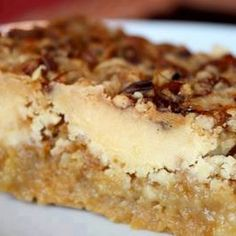 Pumpkin Crunch Cake ~ box yellow cake mix  1 can (15 oz) pumpkin puree  1 can (12 oz) evaporated milk  3 large eggs  1½ cups sugar  1 tsp. cinnamon  ½ tsp. salt  1½ cups chopped pecans (the original recipe called for ½ cup)  1 cup butter, melted