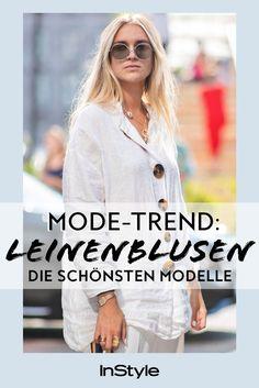 Leinenblusen bleiben diesen Sommer Modetrend Non Non, T Shirt, Tops, Women, Fashion, Beautiful Models, Trending Fashion, Shirt Blouses, Night
