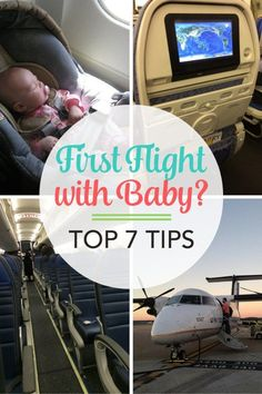 Flying with a baby for the first time? A little preparation and information goes a long way. These top tips will help make all your air travels with infants and toddlers much easier.traveling with baby tips Traveling With Baby, Travel With Kids, Family Travel, Baby Travel, Toddler Travel, Flying With A Baby, Thing 1, Preparing For Baby, First Time Moms