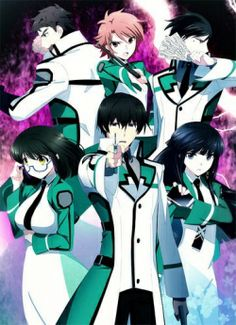 Mahouka Koukou no Rettousei  (The Irregular at Magic High School) Science has perfected magic ... now if only Shiba Tatsuya could use it and pass his course.