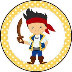 Fazendo a Propria Festa: Jack e os Piratas