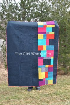 """""""My Tribe"""" Quilt - front"""