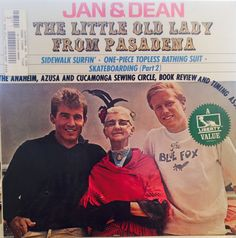 """Jan and Dean """"The Little Old Lady from Pasadena"""" LP"""