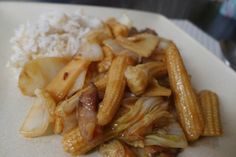 Bamboo Shoot Stir Fry