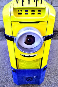 Behold perhaps the coolest PC mod build ever, The Minion Mod! WHOA! #geek