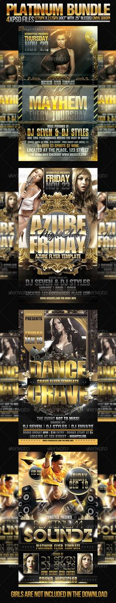 Young Rich And Famous Flyer Template Flyer template, Template and