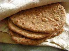 (Sourdough Tortillas and Mock Empanadas.)