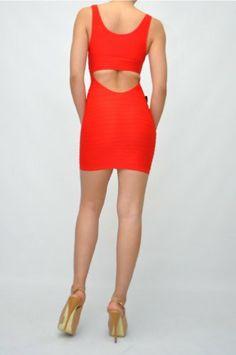 bebe Size P/S fits XXS XS S Red Open back Bandage Bodycon Dress bebe http://www.amazon.com/dp/B00EGMS2OO/ref=cm_sw_r_pi_dp_IIAStb0MHSQ82P70
