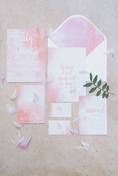 Soft and romantic pastel bridal inspiration by Silke Photography // www.onefabday.com