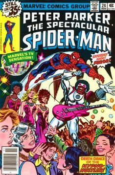 The Spectacular Spider-Man #24 - Spider-Man Night Fever! (Issue)