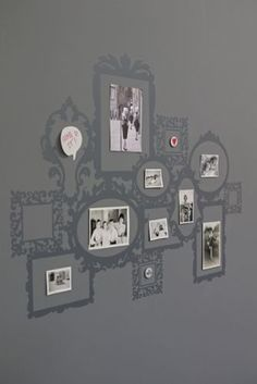 Picture Frames Wall Sticker - Grey WAS £28 NOW £18