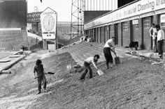 Birmingham City then and now: Old images of St Andrew's blended with images of the stadium today - Birmingham Mail Trevor Francis, Birmingham City Fc, Bristol Rovers, Football Pictures, Old Images, Football Stadiums, St Andrews, Photo Wall Art, Memories