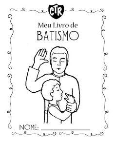 Primaria SUD Detalhes: Livrinho de Batismo
