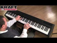 Kraft Music - Yamaha P-105 Demo with Adam Berzowski