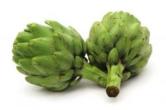 Yum.  Love artichokes steamed with melted Earth Balance.