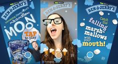 Ben & Jerry's Created a Facebook AR Filter That Challenges You to Catch Marshmallows in Your Mouth – Adweek