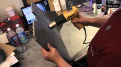 Build Sci Fi Armor for CHEAP : DIY using foam and a heat gun. (This guy is insanely talented, but the basic technique is pretty simple)