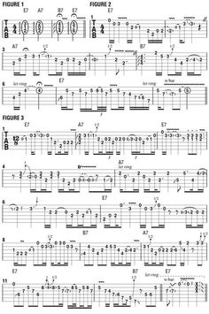 Blues Shapes, Part More on Using Triadic Forms as Soloing Templates - Guitar World Music Theory Guitar, Guitar Sheet Music, Guitar Songs, Ukulele, Blues Guitar Lessons, Guitar Lessons For Beginners, Free Guitar Chords, Guitar Riffs, Music Tabs