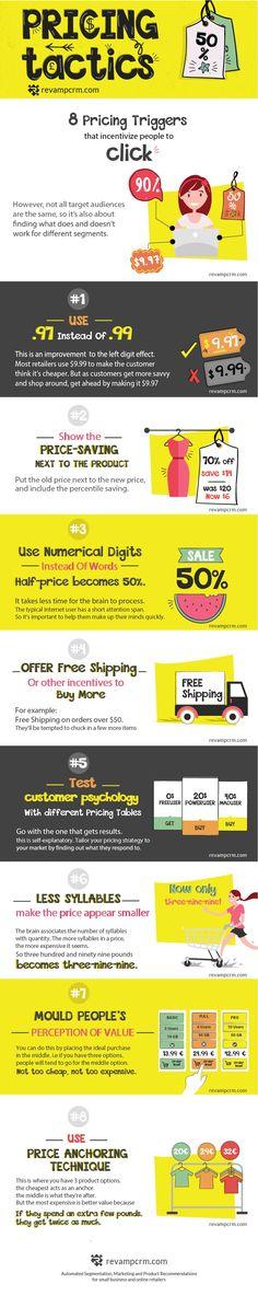 Pricing Tactics - #Infographic