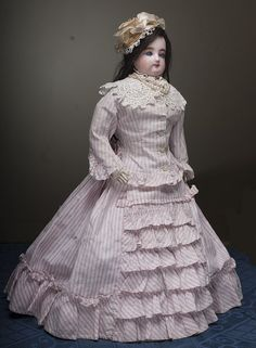 Wonderful and very lovely FG Antique French fashion doll by Gaultier - from respectfulbear on Ruby Lane