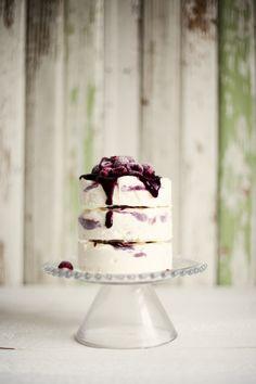 lemon & raspberry ripple ice cream cake