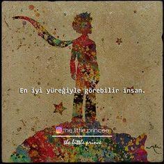En iyi yüreğiyle görebilir insan.   - Antoine De Saint-Exupéry / Küçük Prens   (Kaynak: Instagram - the.little.princee)   #sözler #anlamlısözler #güzelsözler #manalısözler #özlüsözler #alıntı #alıntılar #alıntıdır #alıntısözler #kitap #kitapsözleri #kitapalıntıları #edebiyat #küçükprens #thelittleprince #lepetitprince