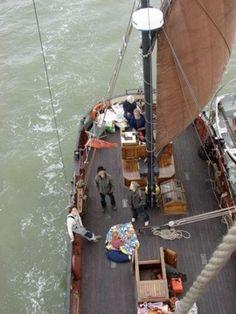 Sailing, Boat, London, Candle, Dinghy, Boats, London England, Ship