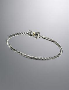 david yurman bow bracelet... PLEASE FIND YOUR WAY INTO MY JEWELRY BOX!!!! -xoxo Sarah <3