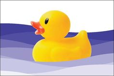 Did you know the rubber duck has been inducted into the National Toy Hall of Fame? It would be easy to think of the rubber duck as just a bath time or water table toy. However, this brightly colored buddy deserves a presence in your program because of its versatility and simplicity. Here are 25 things you and the children can do today with rubber ducks.