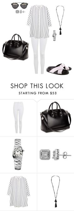 """""""Sem título #1944"""" by analuli on Polyvore featuring moda, Topshop, Givenchy, Cartier, Lord & Taylor, MANGO, Isabel Marant e Christian Dior"""