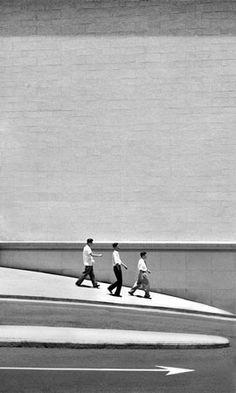 Fan Ho Three Men Walking The Living Theatre :: http://www.modernbook.com/fanho/living_theatre/images.htm