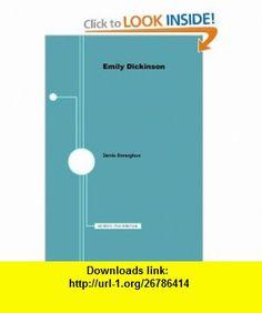Emily Dickinson - American Writers 81 University of Minnesota Pamphlets on American Writers (9780816605439) Denis Donoghue , ISBN-10: 0816605432  , ISBN-13: 978-0816605439 ,  , tutorials , pdf , ebook , torrent , downloads , rapidshare , filesonic , hotfile , megaupload , fileserve