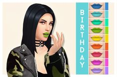 "hystamine: "" birthday ""i just wanted some good colorful mattes "" download (no ad.fly) """