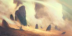 Storm Peaks, Shahab Alizadeh on ArtStation at https://www.artstation.com/artwork/storm-peaks