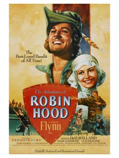 I was so young when I first saw Errol Flynn in Robin Hood. I have loved him ever since.