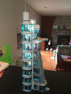Finally got around to modifying the Avengers Tower. Version 3.0 (Final Version) LEGO Avengers Tower v3.0 by cmay91472, on Flickr LEGO Avengers Tower v3.0 by...