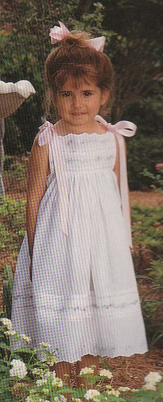 Pretty new sundress made of imported Swiss batiste nelona and white French lace beading. Swiss insertion and edging. The dress isnt finished because I may have to alter the length for you. The dress is the same on front and back. This is size 3-4 and the length right now is 22-1/2 inches. You have to measure differently for this dress since it does not come up high as a regular dress would. Just measure where the dress will fit to the length you want. You can adjust the straps for more l...