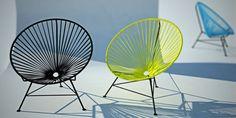 Acapulco wire garden chair on Behance