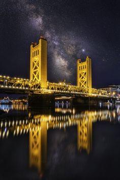 Milky Way Over Sacramento